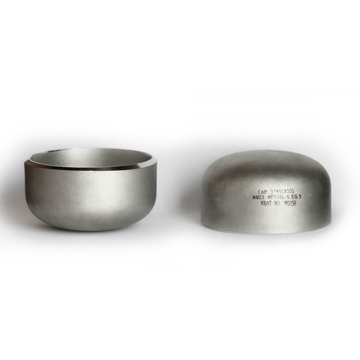 ASTM A403 WP316L stainless steel cap