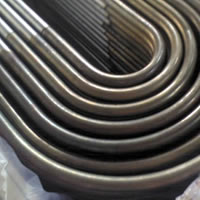 U-stainless steel tubes for heat exchanger