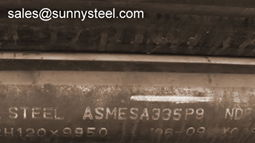 ASTM A335 P9 alloy pipe