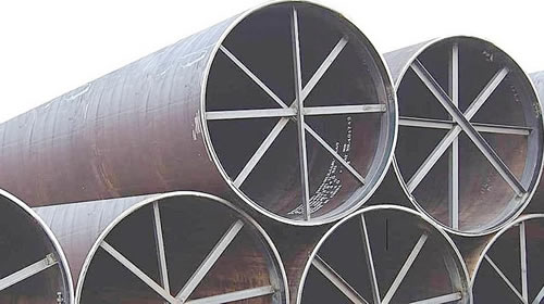 ERW pipes means Electric Resistance Welded Pipes