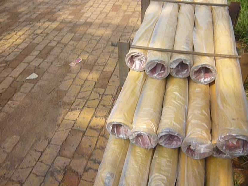 Concrete pump inner-hardened pipe