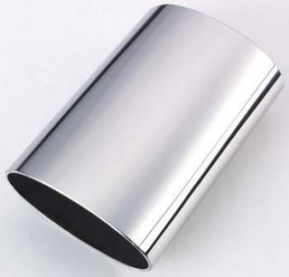 Stainless oval pipe